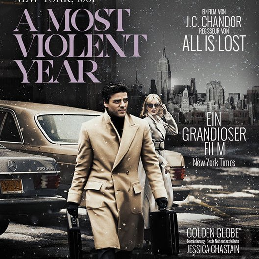 Most Violent Year, A Poster