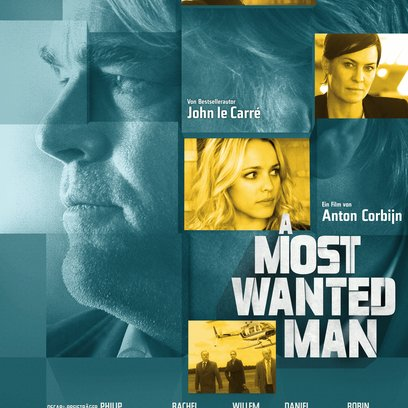 Most Wanted Man, A Poster