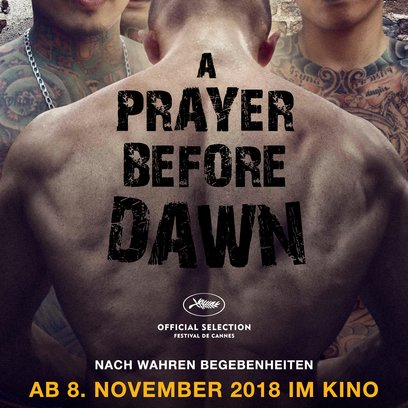 Prayer Before Dawn, A Poster