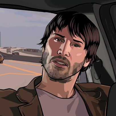 Scanner Darkly, A Poster