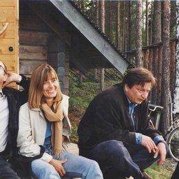30 Jahre Pandora Film Verleih und Produktion / Reinhard Brundig mit Frau und Aki Kaurismäki Poster