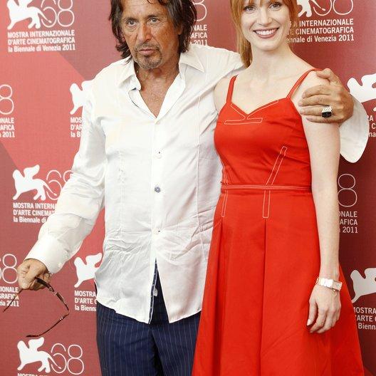 Al Pacino / Jessica Chastain / 68. Internationale Filmfestspiele Venedig 2011 Poster