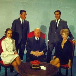 Topas / John Forsythe / Frederick Stafford / Dany Robin / Claude Jade / Alfred Hitchcock Poster