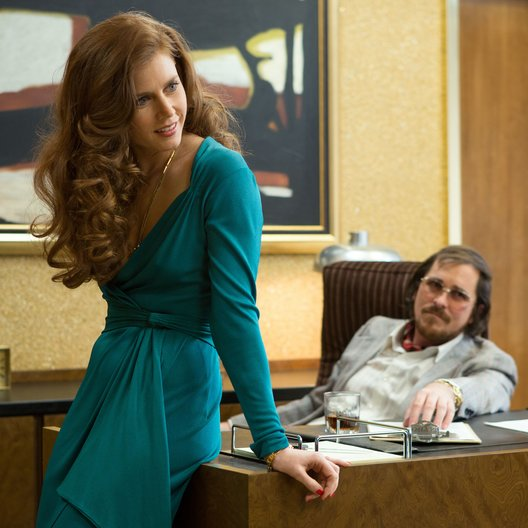 American Hustle / Amy Adams / Christian Bale Poster