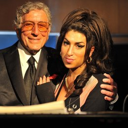 Amy Winehouse mit Tony Bennett Poster