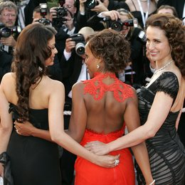 Rai, Aishwarya / MacDowell, Andie / 59. Filmfestival Cannes 2006 / L'Oréal Girls Poster
