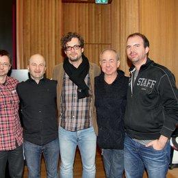 Fachkongress SoundTrack_Cologne 2013 in Köln / Kai Schwirzke, Andreas Weidinger, Matthias Hornschuh, Helmut Zerlett und Christoph Zirngibl Poster