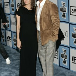 Jolie, Angelina / Brad Pitt / Independent's 2008 Spirit Awards / Santa Monica, Kalifornien 23.2.2008 Poster