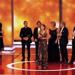 """11. Verleihung des Deutschen Fernsehpreises 2009 / Anja Kling bedankte sich für die Auszeichnung von """"Wir sind das Volk"""" Poster"""
