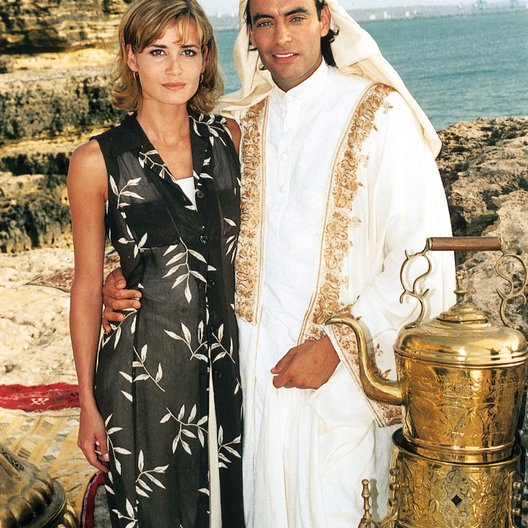arabische Prinz, Der (TV-Film) / Set / Anja Kling / Anthony Delon
