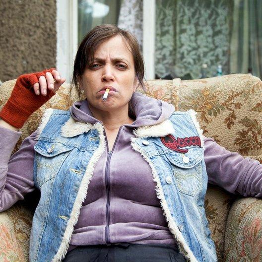 Anna Thalbach als potentielle Serienheldin Peggy Poster