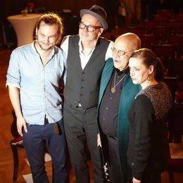 """Schönherz & Fleer präsentierten """"Amo"""" / Sänger Jonathan Kluth, Peter Lohmeyer, Giora Feidman und Anna Thalbach Poster"""