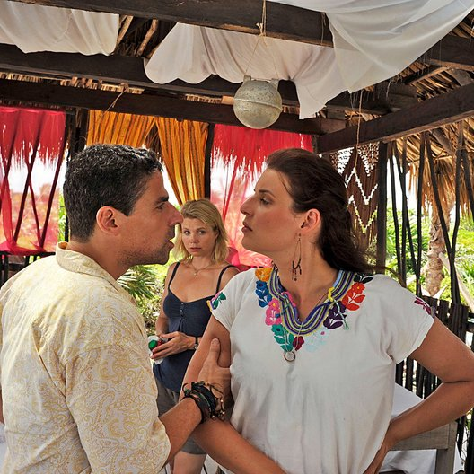 Lichtblau - Neues Leben Mexiko (Sat.1) / Annette Frier / Roberto Guerra / Elena Uhlig Poster