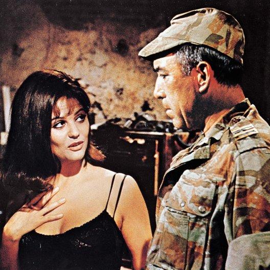 Sie fürchten weder Tod noch Teufel / Claudia Cardinale / Anthony Quinn