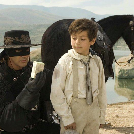 Legende des Zorro, Die / Antonio Banderas / Adrian Alonso