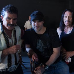 Machete Kills / Set / Antonio Banderas / Robert Rodriguez / Danny Trejo Poster