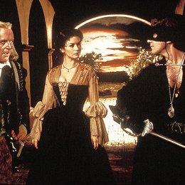 Maske des Zorro, Die / Anthony Hopkins / Catherine Zeta-Jones / Antonio Banderas Poster