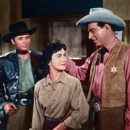 Schüsse in New Mexico / Audie Murphy / Stephen McNally / Susan Cabot Poster