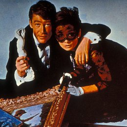 Wie klaut man eine Million? / Peter O'Toole / Audrey Hepburn Poster