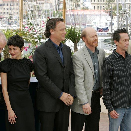 Da Vinci Code Team / 59. Filmfestival Cannes 2006 / Audrey Tautou / Tom Hanks / Ron Howard / Brian Grazer / Jean Reno