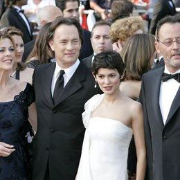 Da Vinci Code Team / 59. Filmfestival Cannes 2006 / Rita Wilson / Tom Hanks / Audrey Tautou / Jean Reno