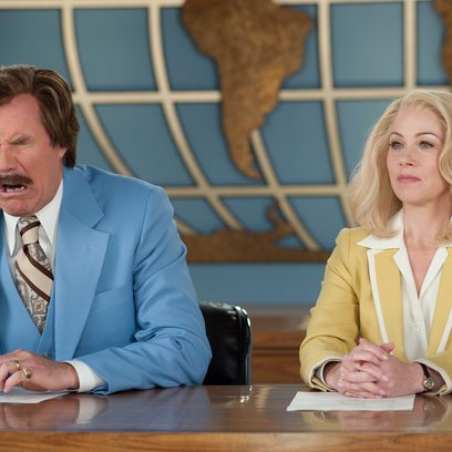 Anchorman - Die Legende kehrt zurück / Will Ferrell / Christina Applegate Poster