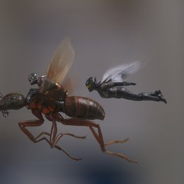 Marvel Studios ANT-MAN AND THE WASP  L to R: Ant-Man/Scott Lang (Paul Rudd) and The Wasp/Hope van Dyne (Evangeline Lilly)  Photo: Film Frame  ©Marvel Studios 2018 Poster