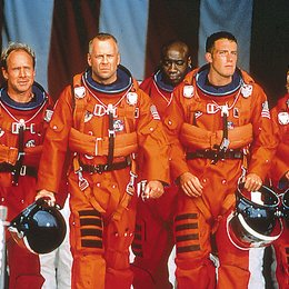 Armageddon - Das jüngste Gericht / Bruce Willis / Ben Affleck / Will Patton / Steve Buscemi / Owen Wilson / Michael Clarke Duncan Poster