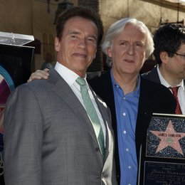 Schwarzenegger, Arnold / Cameron, James / Hollywood Walk of Fame Star for James Cameron, 2009 Poster