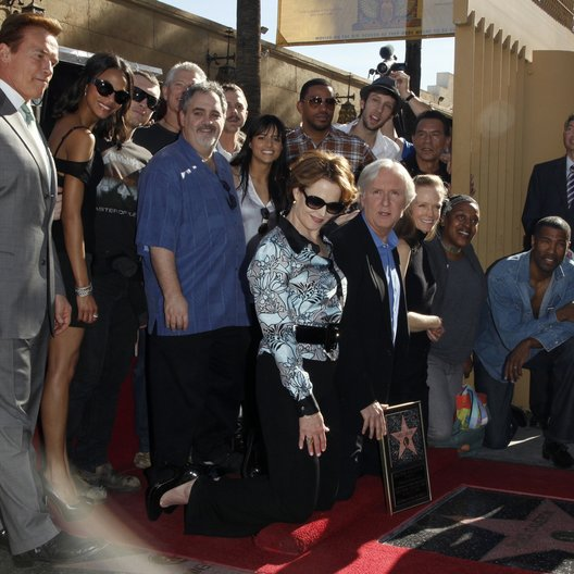 Schwarzenegger, Arnold / Saldana, Zoe / Weaver, Sigourney / Worthington, Sam / Cameron, James / Hollywood Walk of Fame Star for James Cameron, 2009 Poster