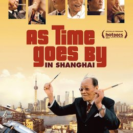 As Time Goes By in Shanghai Poster