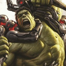 Avengers: Age of Ultron / Concept Art Poster