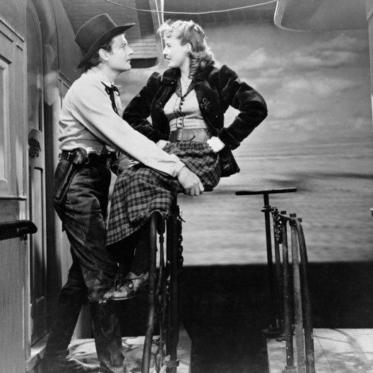 Frau gehört mir, Die / Barbara Stanwyck / Joel McCrea Poster
