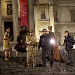 Nachts im Museum - Das Geheimnisvolle Grabmal / Mizuo Peck / Patrick Gallagher / Robin Williams / Ben Stiller / Rami Malek