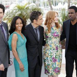 Schwimmer, David / Pinkett Smith, Jada / Stiller, Ben / Chastain, Jessica / Rock, Chris / 65. Filmfestspiele Cannes 2012 / Festival de Cannes