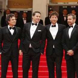 Mark Ruffalo, Channing Tatum, Bennett Miller, Steve Carell / 67. Internationale Filmfestspiele von Cannes 2014 Poster