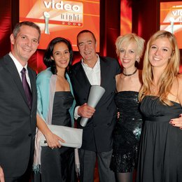 Video Night 2009 / Peider Bach, Sunitha Gunawardena, Bernd Eichinger, Katja Eichinger und Nina Eichinger Poster