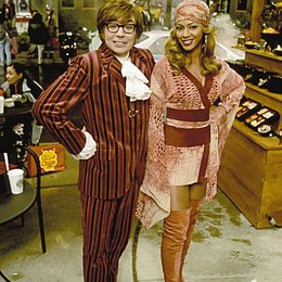 Austin Powers in Goldständer / Mike Myers / Beyoncé Knowles Poster