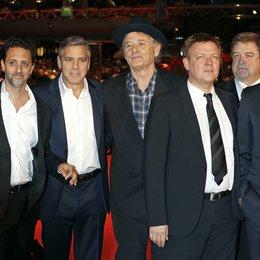 Ettlinger, Harry / Heslov, Grant / Clooney, George / Murray, Bill / Dohnányi, Justus von / Goodman, John / Dujardin, Jean / 64. Berlinale 2014 Poster