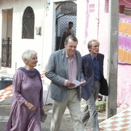 Best Exotic Marigold Hotel, The / Dame Judi Dench / Tom Wilkinson / Bill Nighy Poster