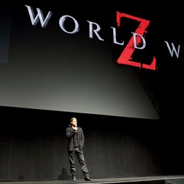 "3. CinemaCon 2013, Las Vegas / Brad Pitt stellte ""World War Z"" vor Poster"