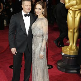 Brad Pitt / Angelina Jolie / 86th Academy Awards 2014 / Oscar 2014 Poster