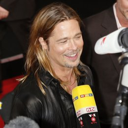 "Brad Pitt / Filmpremiere ""World War Z"" Poster"
