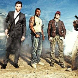 "A-Team - Der Film, Das / Bradley Cooper / Quinton ""Rampage"" Jackson / Sharlto Copley / Liam Neeson Poster"
