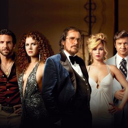 American Hustle / Bradley Cooper / Amy Adams / Christian Bale / Jennifer Lawrence / Jeremy Renner Poster