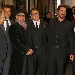 """American Hustle"" Team / Roven, Charles / Cooper, Bradley / Kosslick, Dieter / Russell, David O. / Bale, Christian / Budman, Matthew / 64. Berlinale 2014 Poster"