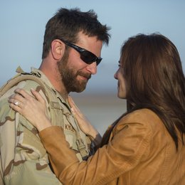 American Sniper / Bradley Cooper / Sienna Miller Poster