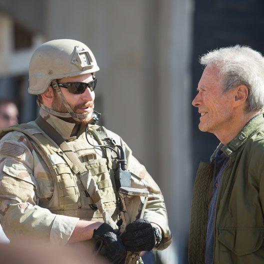 American Sniper / Set / Bradley Cooper / Clint Eastwood Poster