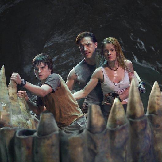 Reise zum Mittelpunkt der Erde, Die / Journey to the Center of the Earth / Josh Hutcherson / Brendan Fraser / Anita Briem Poster