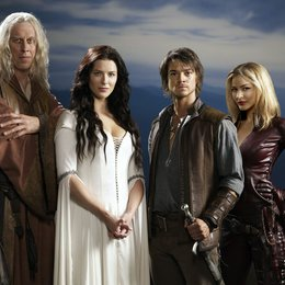 Legend of the Seeker / Bruce Spence / Craig Horner / Bridget Regan / Tabrett Bethell Poster